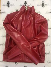 X0331 Rubber LATEX DRESS *PS RED* Westward Bound £165 RRP 16 UK Slight Seconds
