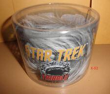 STAR TREK grey PLUSH TRIBBLE doll TOY alien QM quantum mechanix