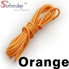 1 meters Orange 30AWG Flexible Silicone Wire Outer Diameter 1.2mm DIY Cable line