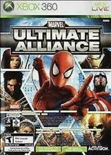 Marvel: Ultimate Alliance/Forza Motorsport 2 (Microsoft Xbox 360, 2007) VG