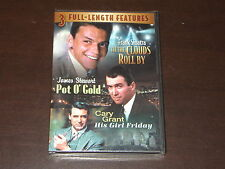 TIL THE CLOUDS ROLL BY POT O GOLD HIS GIRL FRIDAY MOVIE DVD FACTORY SEALED