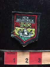 Vtg Felt As-Is NEW BRUNSWICK Canada Patch Emblem 75X1
