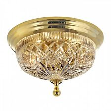 Waterford Beaumont 12 Inch Brass Ceiling Fixture
