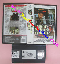 VHS film I GIORNI DELL'AMORE E DELL'ODIO CEFALONIA 2001 MINERVA (F131) no dvd