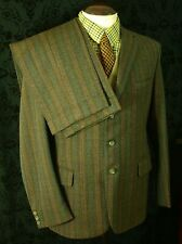 Rare Bespoke Redmayne Tweed Country Suit Jacket Trousers Size 40 36/34 W 32/33L