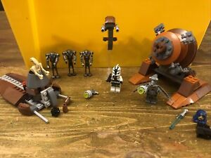 Lego 9491 Geonosian Cannon And 7654 Droids Battle Pack