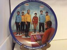 Star Trek Hamilton Collection Plate Beam Us Down Scotty #3529M