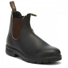 Blundstone 500 Dealer Boots Brown Slip On Leather Chelsea Boot