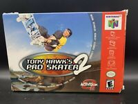 Tony Hawk Pro Skater 2 -Nintendo 64 N64 BOX ONLY NO GAME OR MANUAL