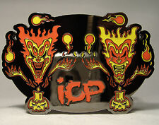 Insane Clown Posse Belt Buckle Silver Horrorcore Hip Hop Rap Twiztid Icp Nwt