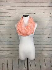 Women's Coral Infinity Scarf sheer lightweight geometric boutique