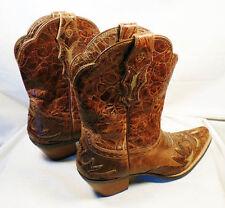 Womens Ariat Dahlia Dainty Boots Brown #10008781 Size 9 LITTLE Wear