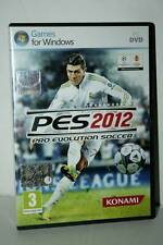 Pro Evolution Soccer 2012 Game Used Excellent PC DVD English Version gd1 41419
