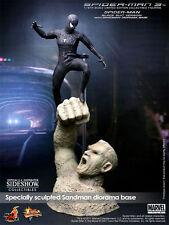 "Black Suit Anzug Spiderman and Sandman Spider-Man 3 12"" Figur MMS165 Hot Toys"