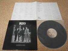 Kiss ~ Dressed To Kill/ Japan LP/ Sheet