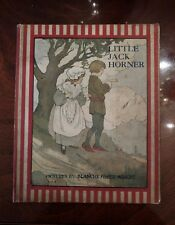 1916 1st Little Jack Horner Illus by Blanche Fisher Wright Goosey Gander Series