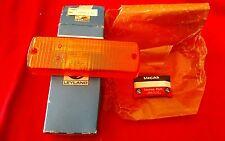 NOS British Leyland Genuine Parts Amber Lens 54581377 Jensen Healey TVR