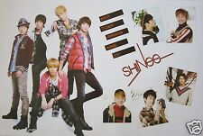 "SHINEE ""GROUP SHOTS & NAMES"" POSTER - K-Pop Music, Korean Boy Group"
