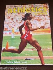 ATHLETICS WEEKLY - VALERIE BRISCO-HOOKS - SEPT 8 1984