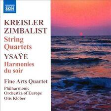 String Quartets / Harmonies Du Soir, New Music