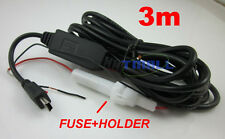 3m Mini USB Waterproof DC/DC Converter Regulator 12V to 5V 15W 3A Step down