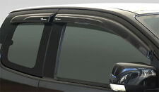 VISOR RAIN WEATHER EXTRA CAB WIND SHIELD AIR GUARD ISUZU RODEO DMAX D-MAX 12-14