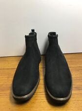 New Men's Ecco Casual Side Zip Navy Anckle chukka Boots Size 45