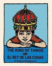 The King of Things/El Rey de las Cosas (English and Spanish Edition)-ExLibrary