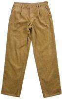Camel Active Men's trouser Pants Bootcut brown Cotton Pocket Button Zip Size 48