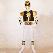 Boys Kids Children Mighty Morphin Power Rangers cosplay costume Zentai bodysuit