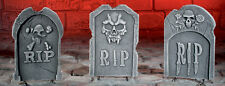 Halloween RIP Tombstone 3D Decoration / Prop Window Display Great Price