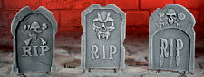 Halloween RIP Tombstone 3D Decoration / Prop Window Display Great Price
