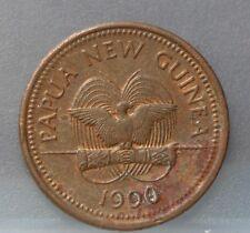 Papua New Guinea - 1 toea 1990 - KM# 1