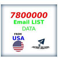 7,8 M USA Company Email Database Marketing List + Shopify Premium Theme (bonus)