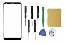 Black Outer Front Screen Glass Lens Replacement For LG G6 LS993 VS998 H872+Tools