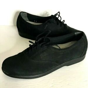 SAS Shoes Tripad Comfort Black Women's Size 9 Narrow Lace Up