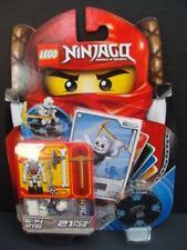 New LEGO NINJAGO Bonezai Spinner 2115 Skeleton Minifigure Battle Cards Ice NIP