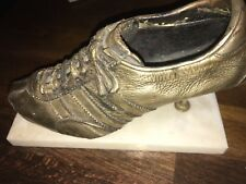 Adidas silver plated shoe world champion? olympia winner? 1960/70 Louis Nellen