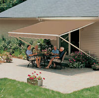 14x9 ft.  SunSetter Manual Retractable Awning 900XT Model Outdoor Deck & Patio