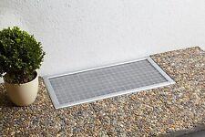 4er-Set Kellerschachtabdeckung Lichtschachtabdeckung Gitterrost 60 x 115 cm