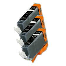 3 BLACK Ink Cartridge for Canon Printer CLI-226BK MG6220 MG8220 MX882 MX892