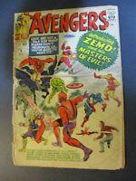 Marvel Comics Avengers # 6 /1963 First Zemo  Vintage Comic Book