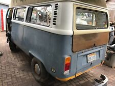 1977 VW Bay window Camper Bus Van T2 Late Bay Project California Import