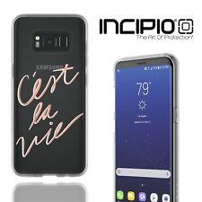 Incipio Samsung Galaxy S8 Parisian Crush Case Slim Tough Luxury Back Cover Gold