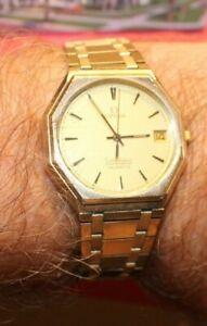 10k Goldfilled Omega Constellation Quartz  on Omega Band Wristwatch
