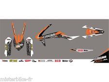 Kit déco CROSS FIRE orange KUTVEK KTM  SX 125 150 250 SX-F 250 350 450
