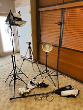 Assorted Studio Photography Equipment