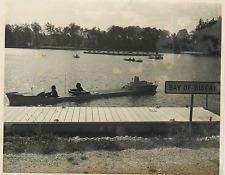 France, Golfe de Gascogne, Port Revel Vintage silver print Tirage argentique