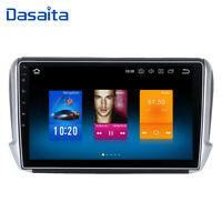 1 Din Autoradio Stereo Android 9.0 per Peugeot 208 2013 a 2018 GPS Navi BT WIFI