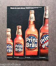 O243 - Advertising Pubblicità - 1967 - PRINZ BRAU , LA VERA BIRRA
